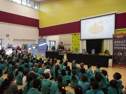 Quorn Celebrates National School Meals Week