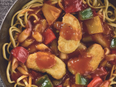 Sweet & Sour Stir-fry Noodles