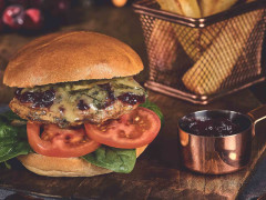 Cranberry & Stilton Burger