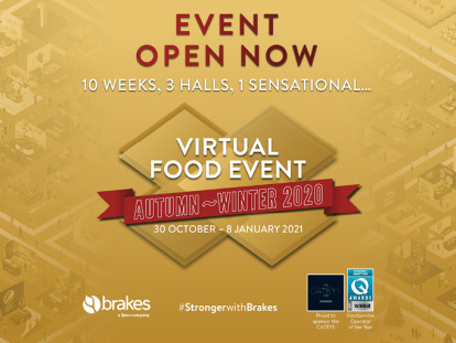 BRAKES LAUNCHES A BIGGER, BETTER, SECOND VIRTUAL FOOD EVENT