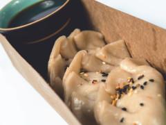 Quorn Vegan Sausage & Kimchi Gyoza