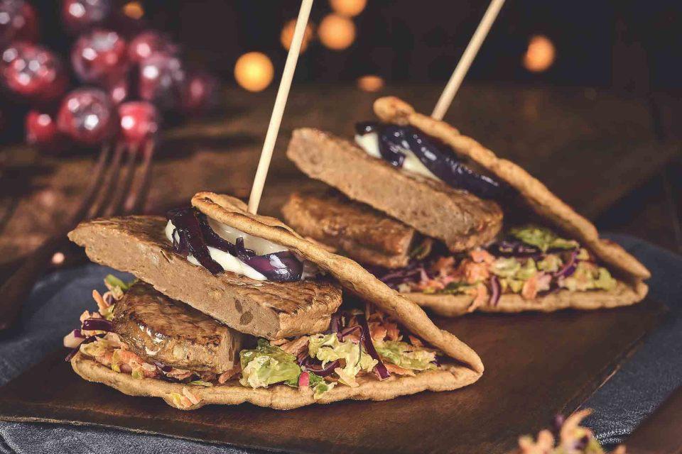 Vegan Festive Flatbread