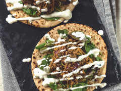 Spicy Green Jalapeno Pepper Flatbreads