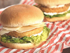 Crispy Caesar Burger