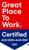 Great Place to Work Logo 2020-2021