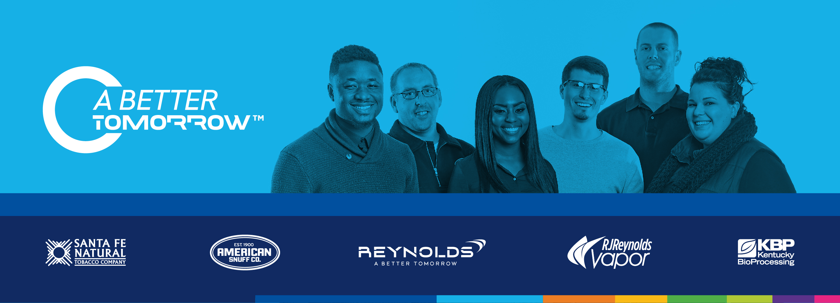 Reynolds American Homepage Header Image - A Better Tomorrow
