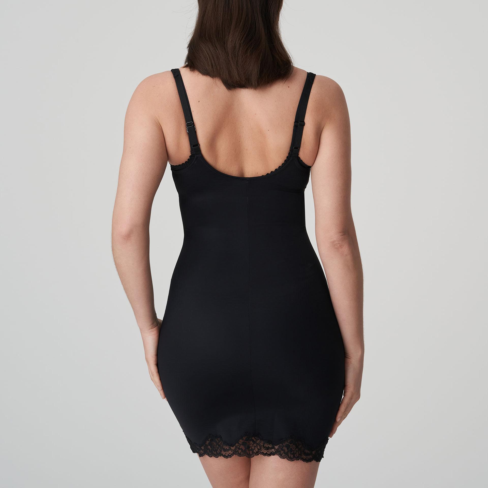 Prima Donna Couture Shapewear Kleid Schwarz Unterkleid Formend Dessous 0862580