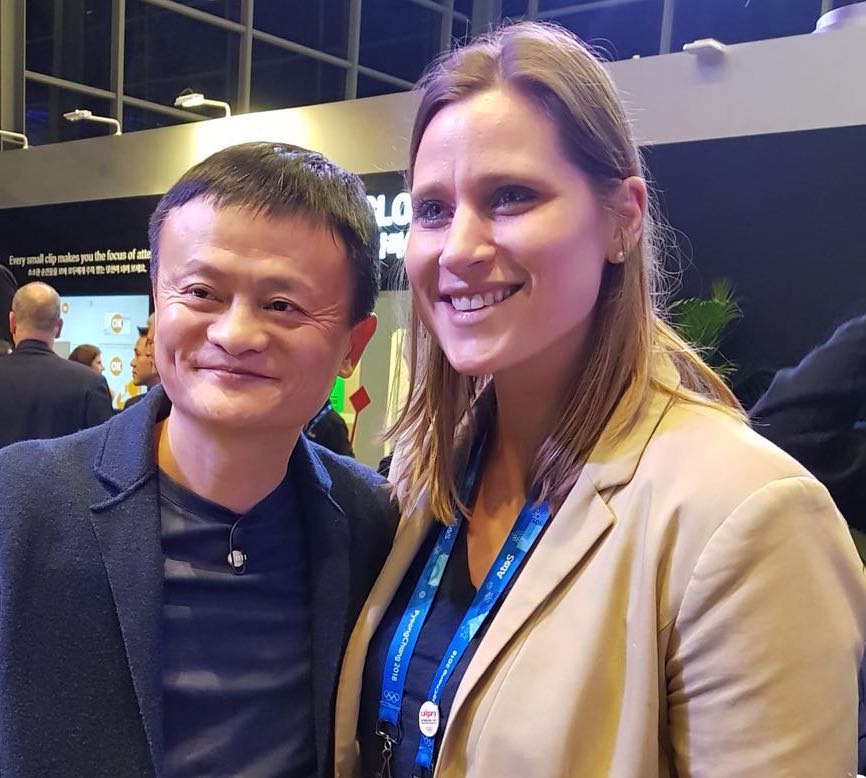 Angela and Jack Ma