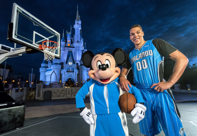 The historic bond between the NBA and Disney World