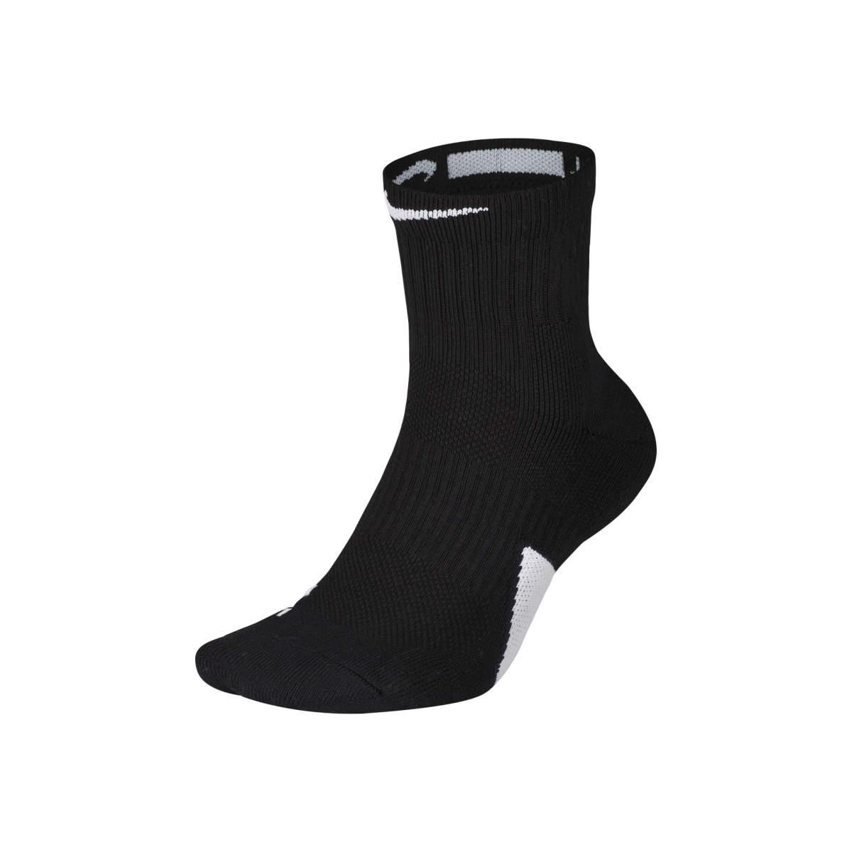 Elite mid socks black