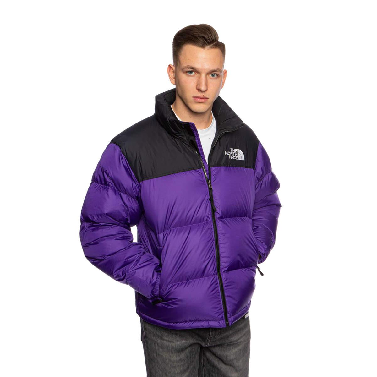 The north face 1996 retro nuptse jacket peak purple
