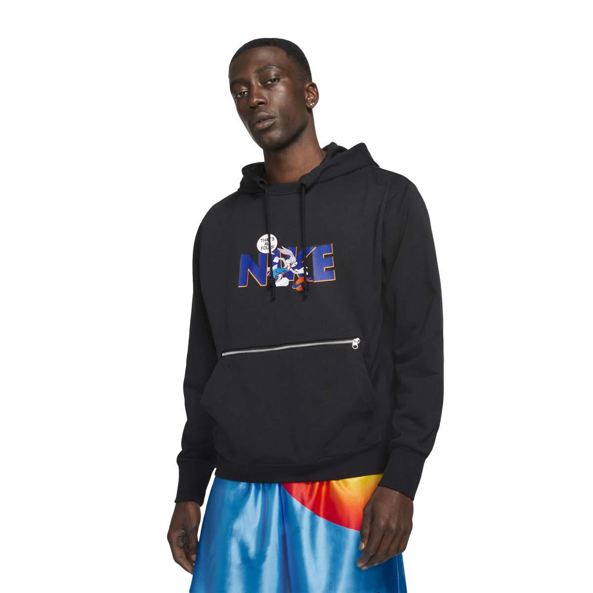 Space jam standard issue po hoodie black