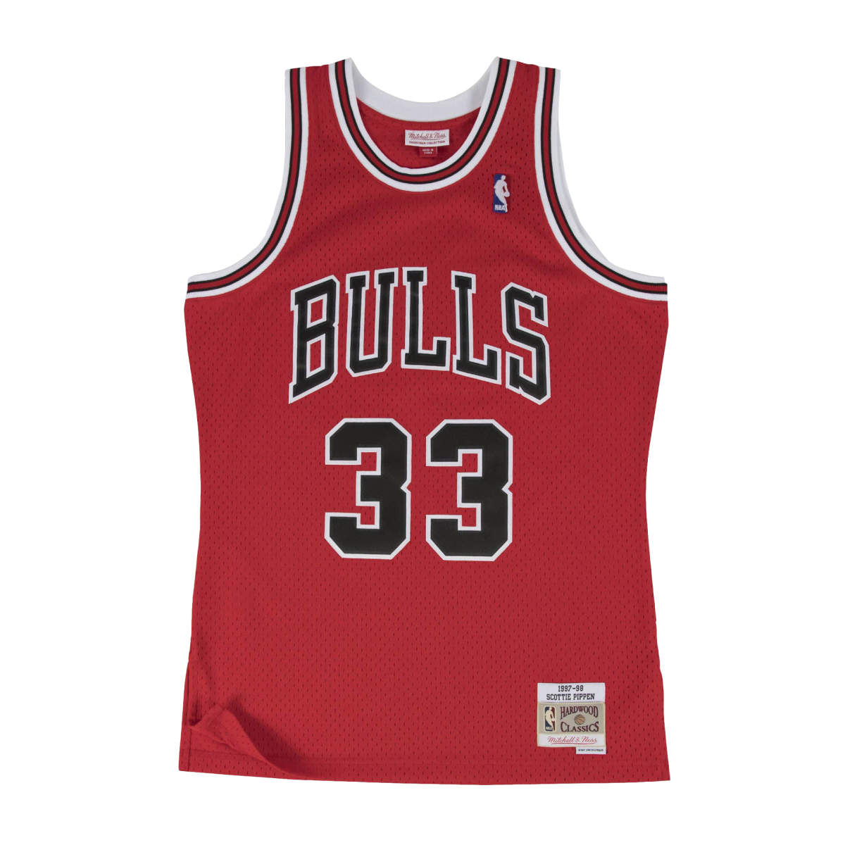 Chicago bulls away swingman jersey 1997-98 pippen