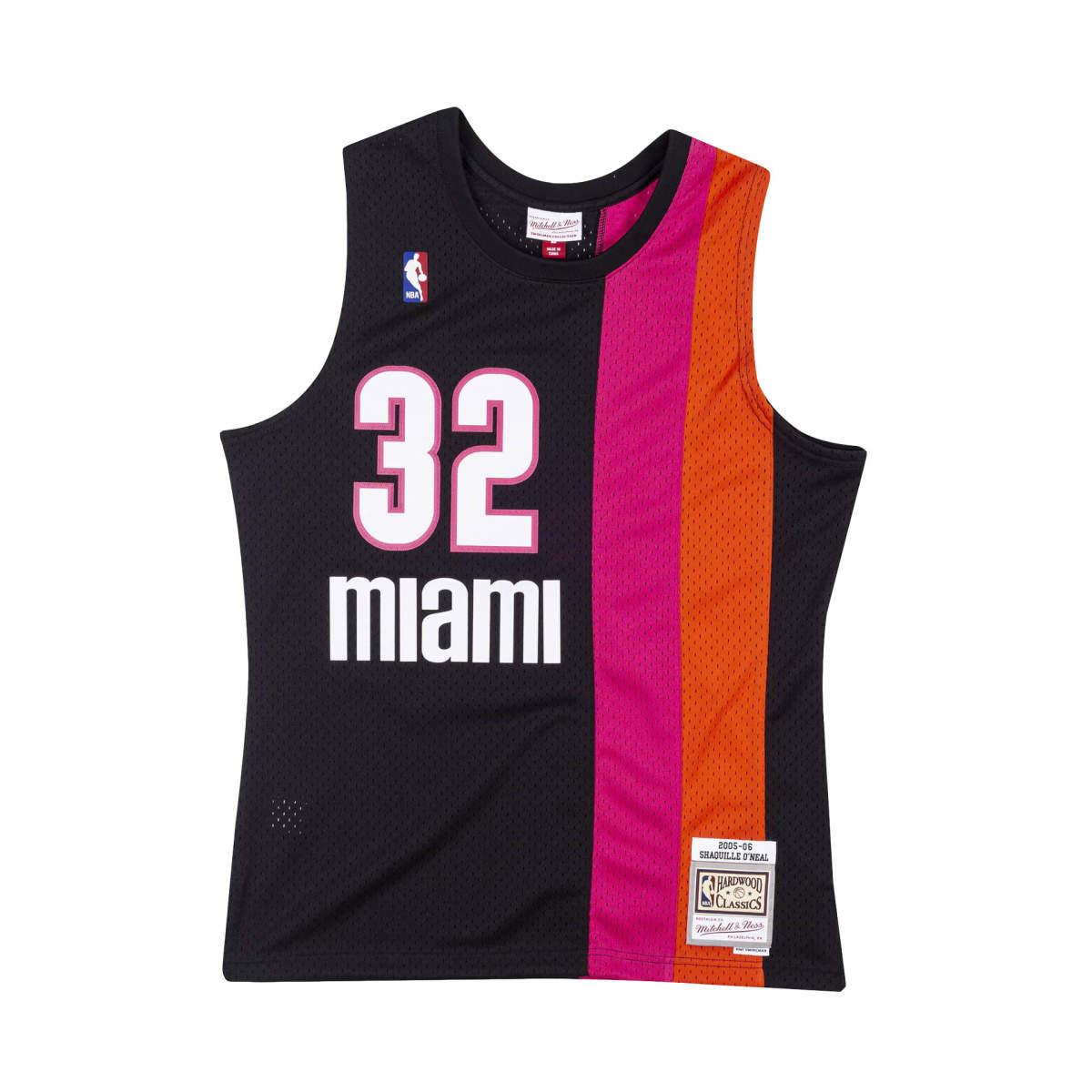Miami heat swingman jersey 2005-06 oneal