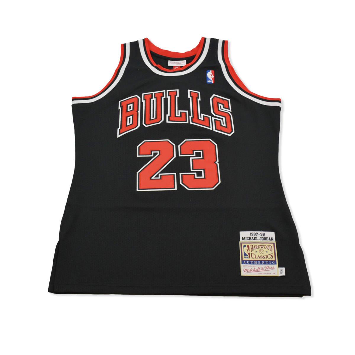 Chicago bulls alternate authentic jersey jordan 1997-98