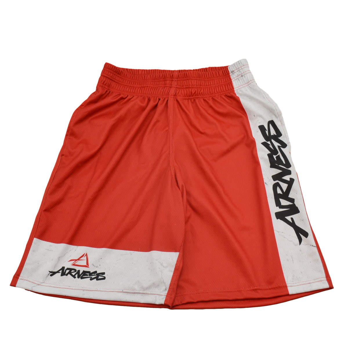 Airness color block short red