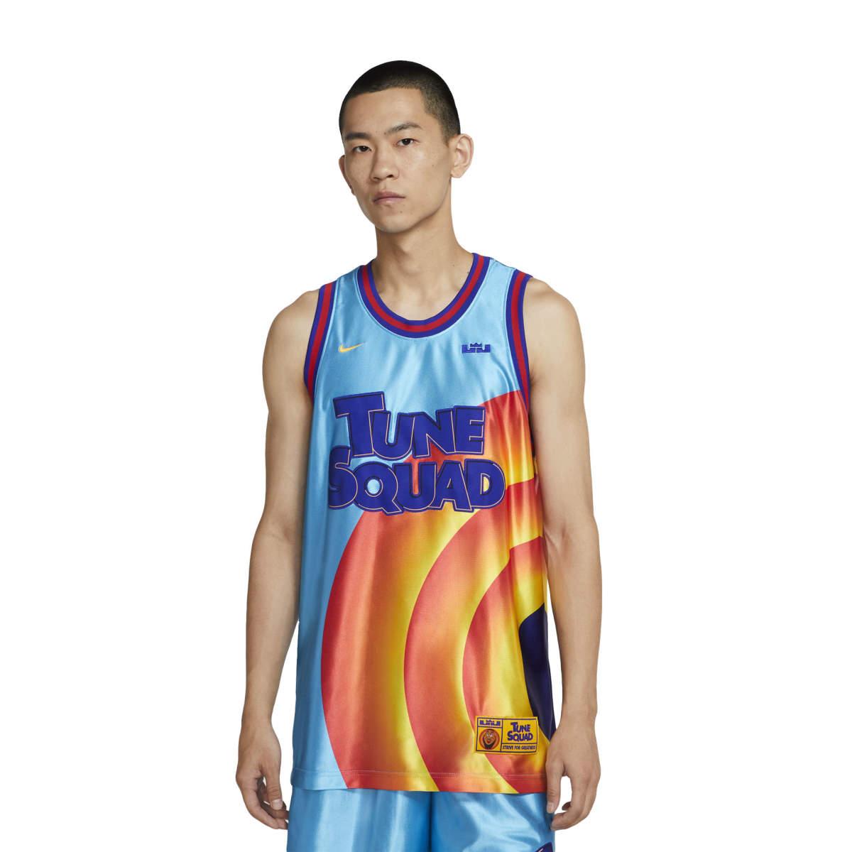 Lebron x space jam tune squad jersey
