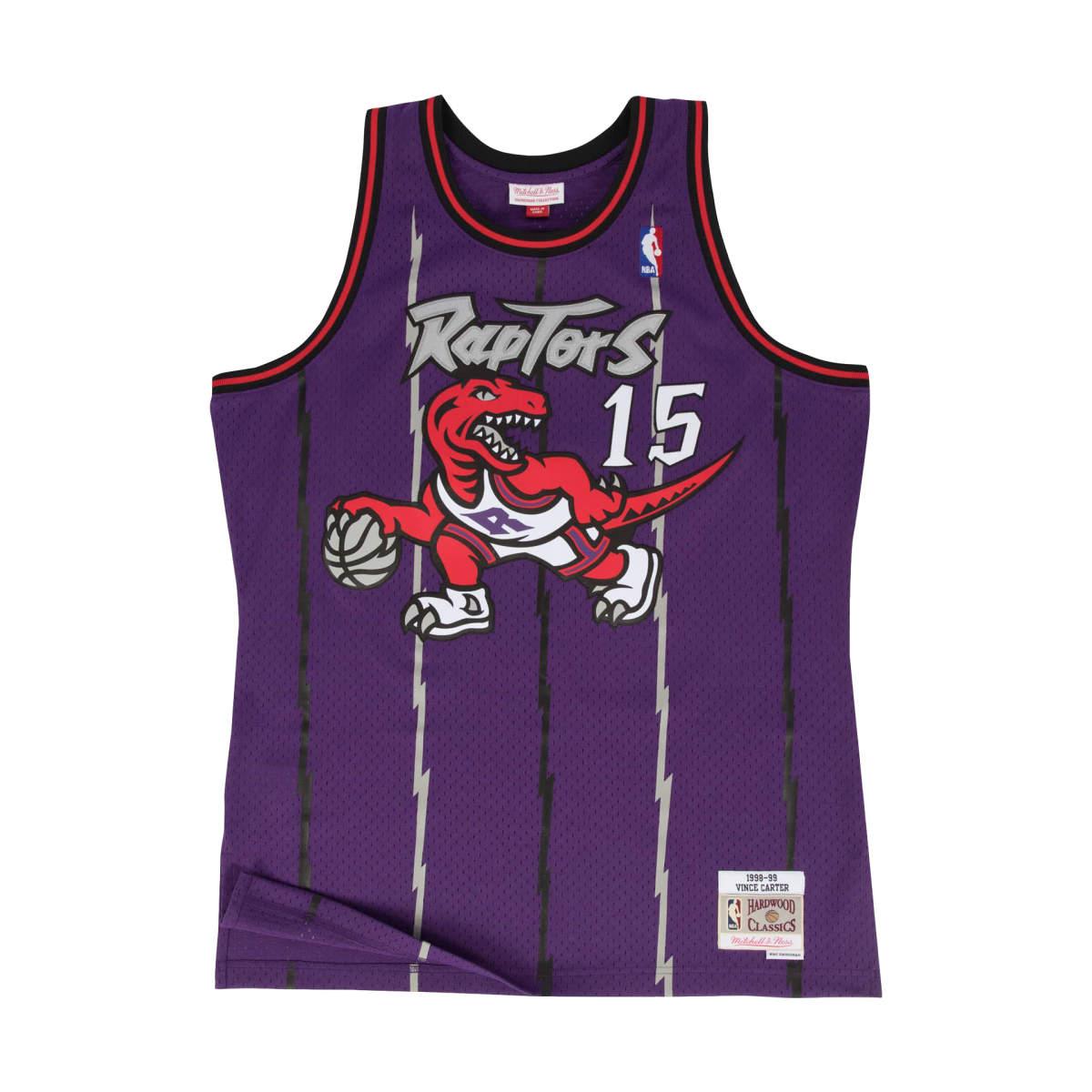 Toronto raptors away swingman jersey 1998-99 carter