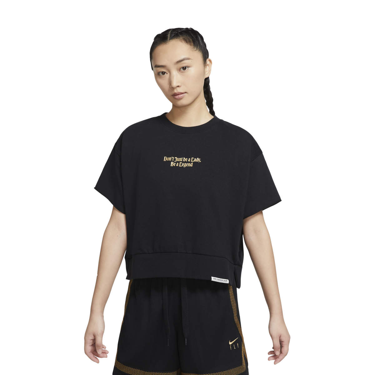 Wmns standard issue top black