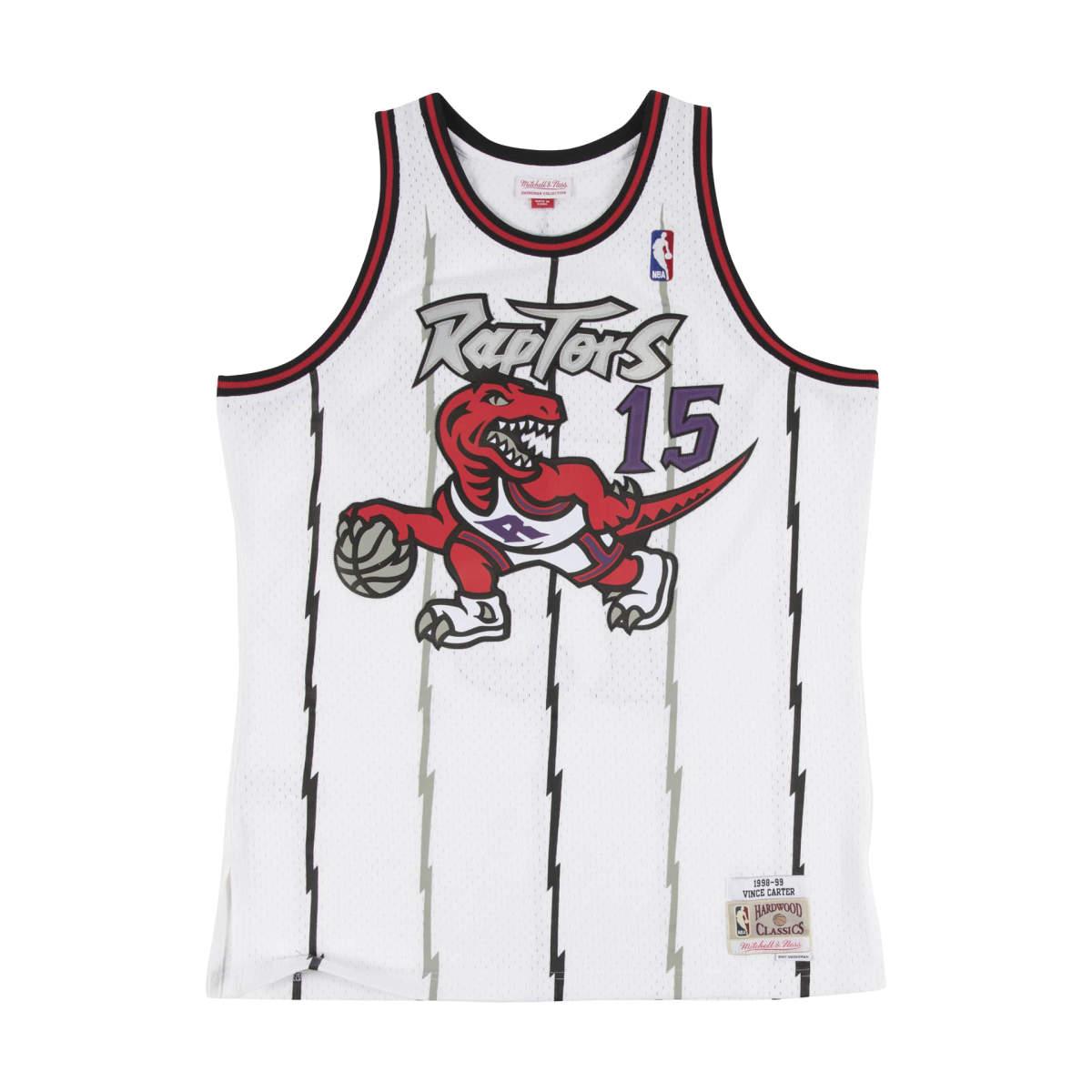 Toronto raptors home swingman jersey 1998-99 carter