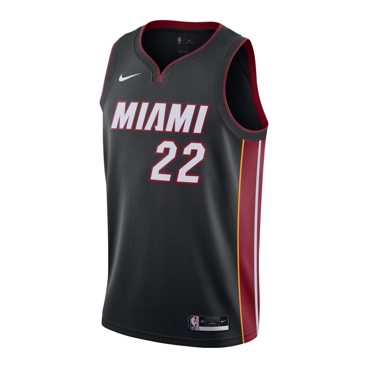 Miami heat icon swingman jersey butler