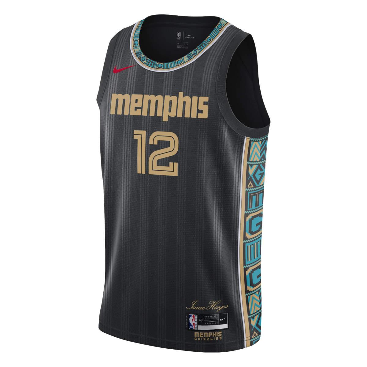 Memphis grizzlies ce swingman jersey morant