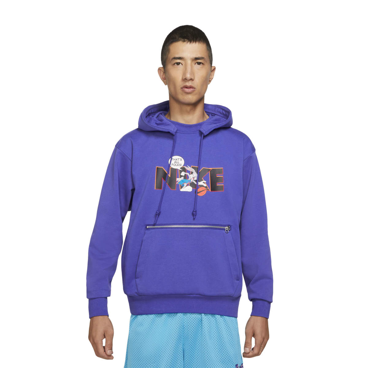 Space jam standard issue po hoodie concord