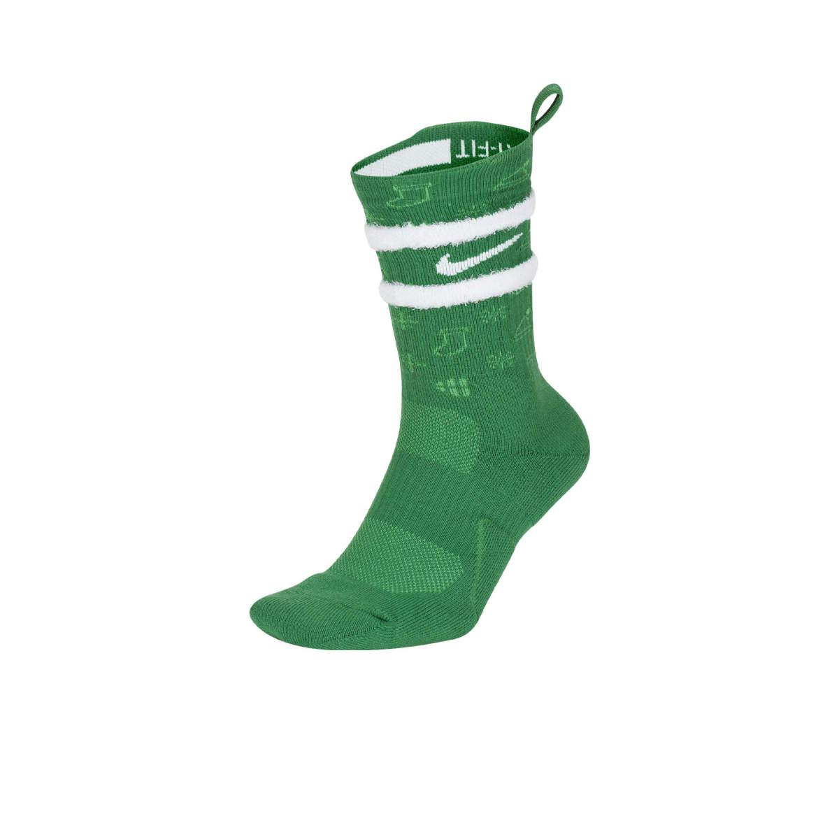 Elite xmas socks green