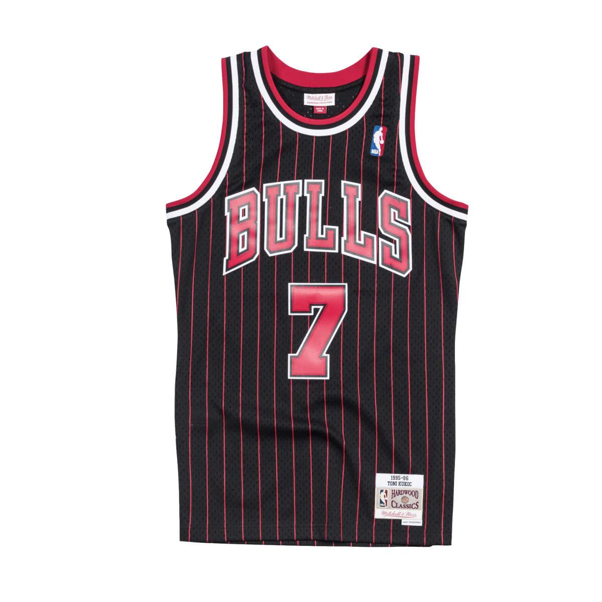 Chicago bulls alternate swingman jersey 1995-96 kukoc
