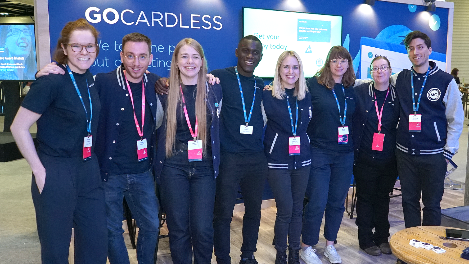 GoCardless team at Xerocon London 2019