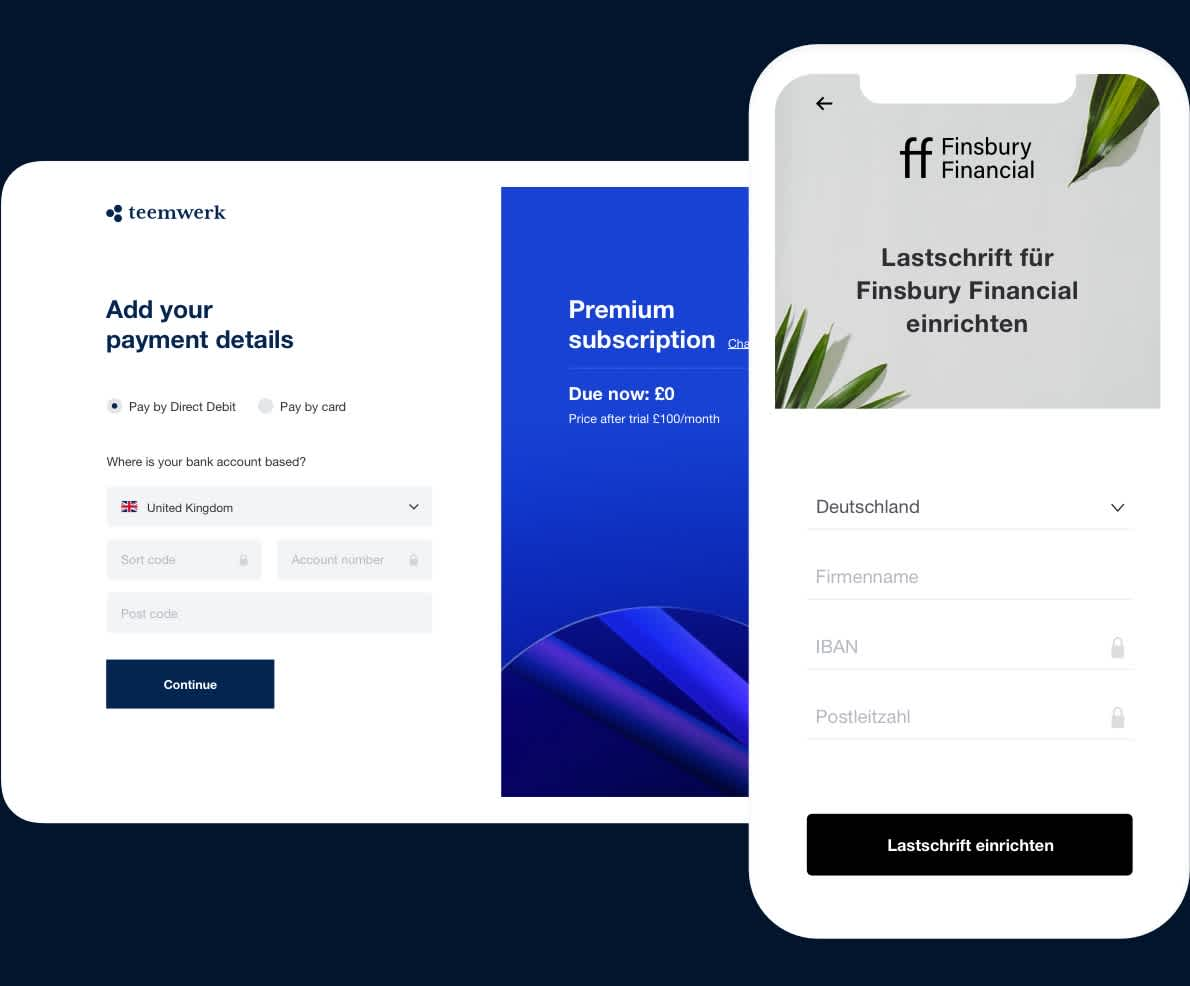 Fully-customisable payment pages
