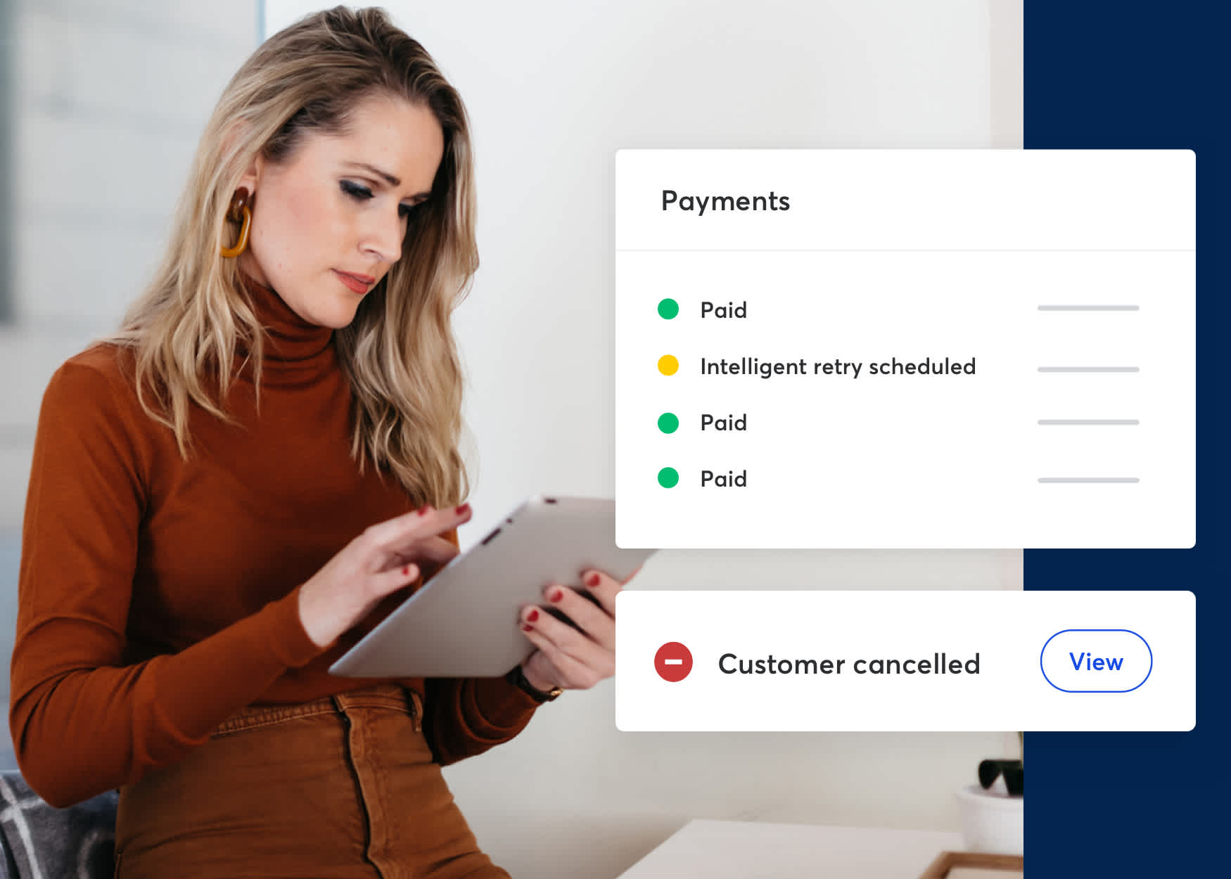 Keep track of payments