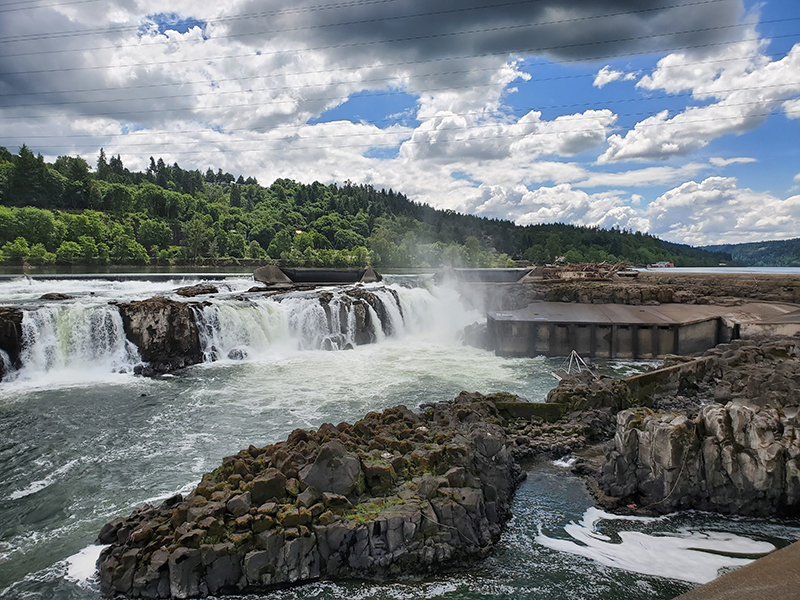 PGE's hydropower project at Willamette Falls