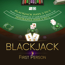First Person Black jack