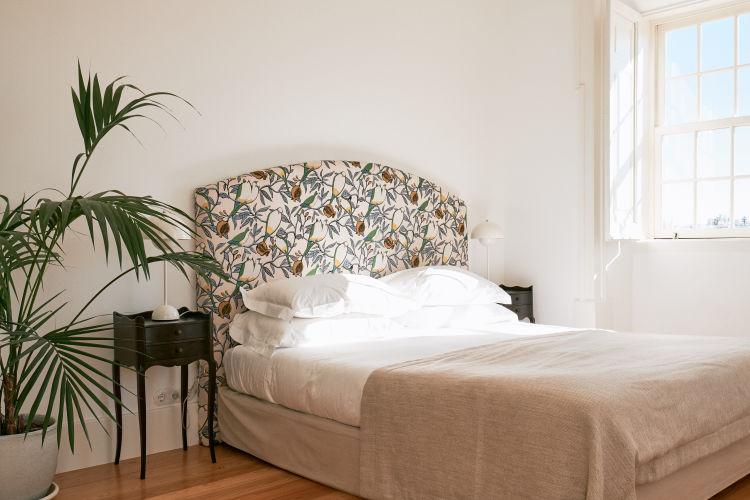 Esplanada interior - cama