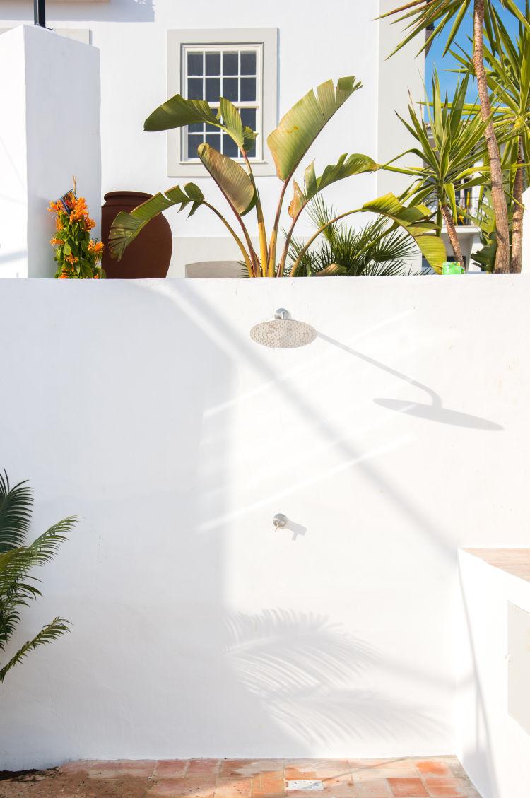 shower cabanas photoshoped