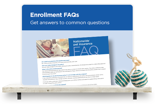 Enrollment FAQS. Get answers to common questions here.