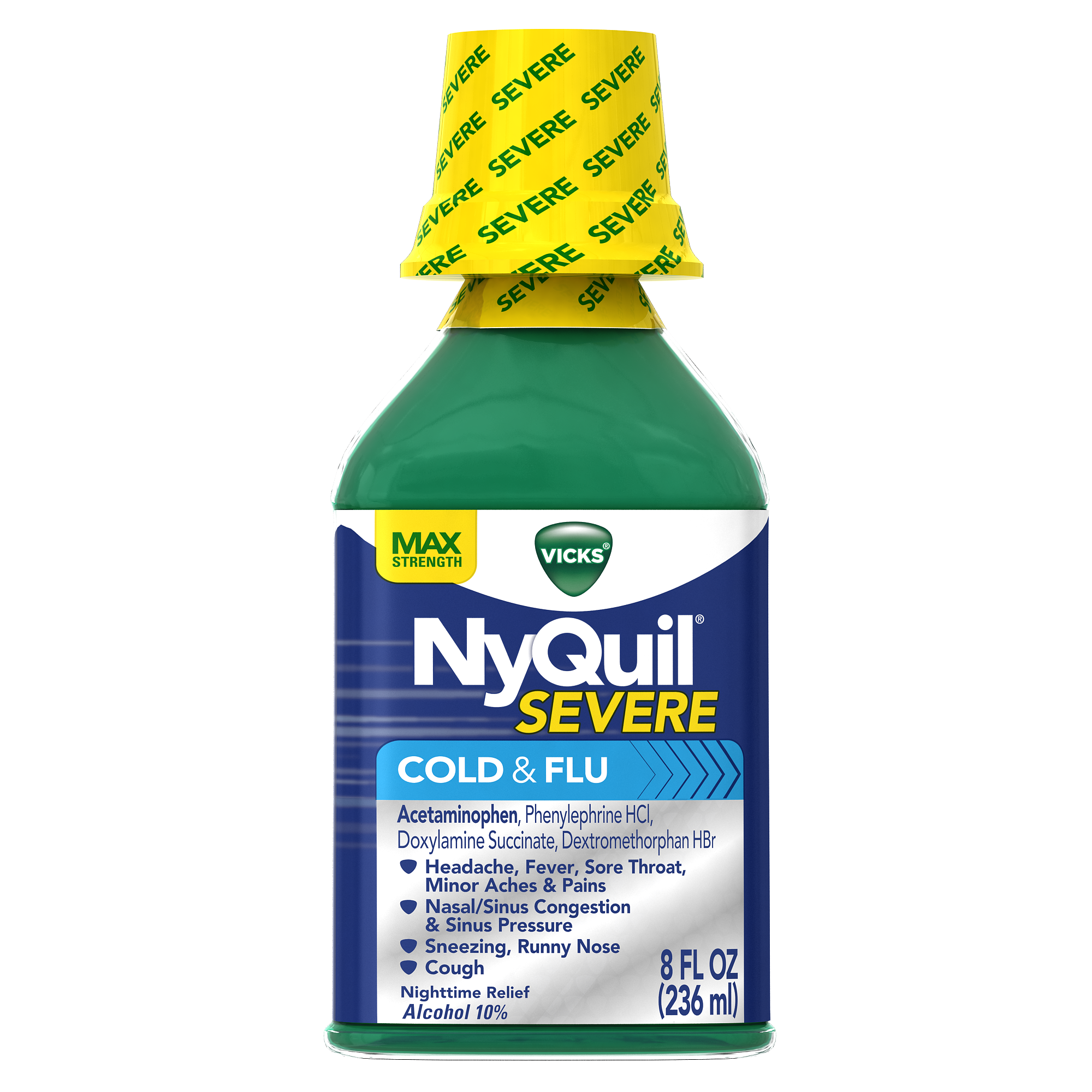 Nyquil Cold Flu Vicks