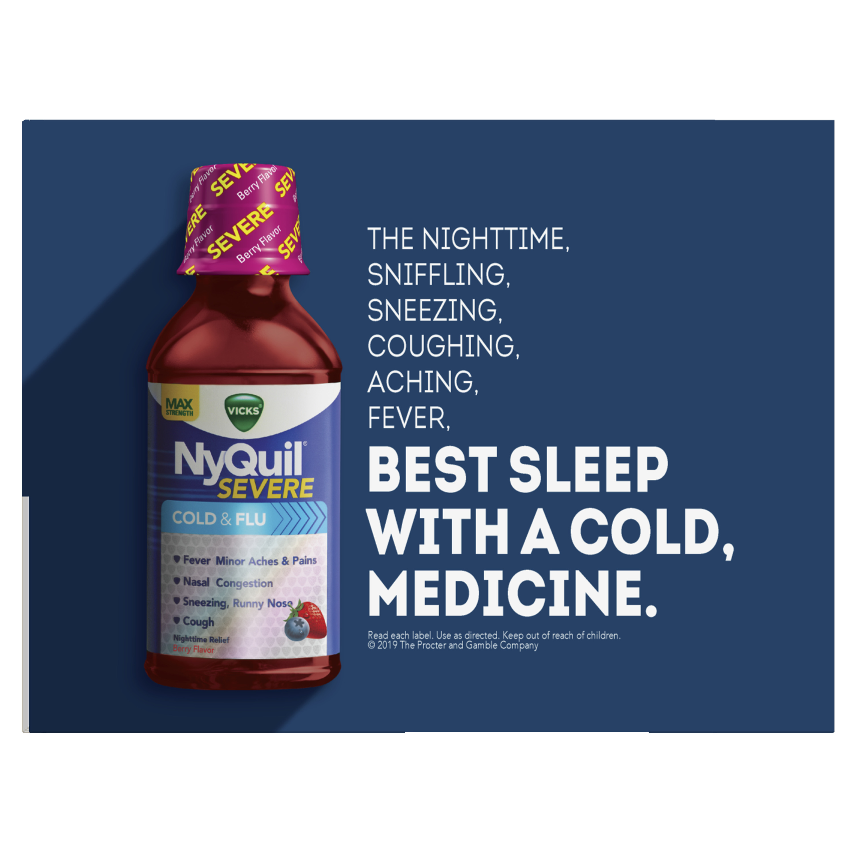 NyQuil™ Cold & Flu - Vicks