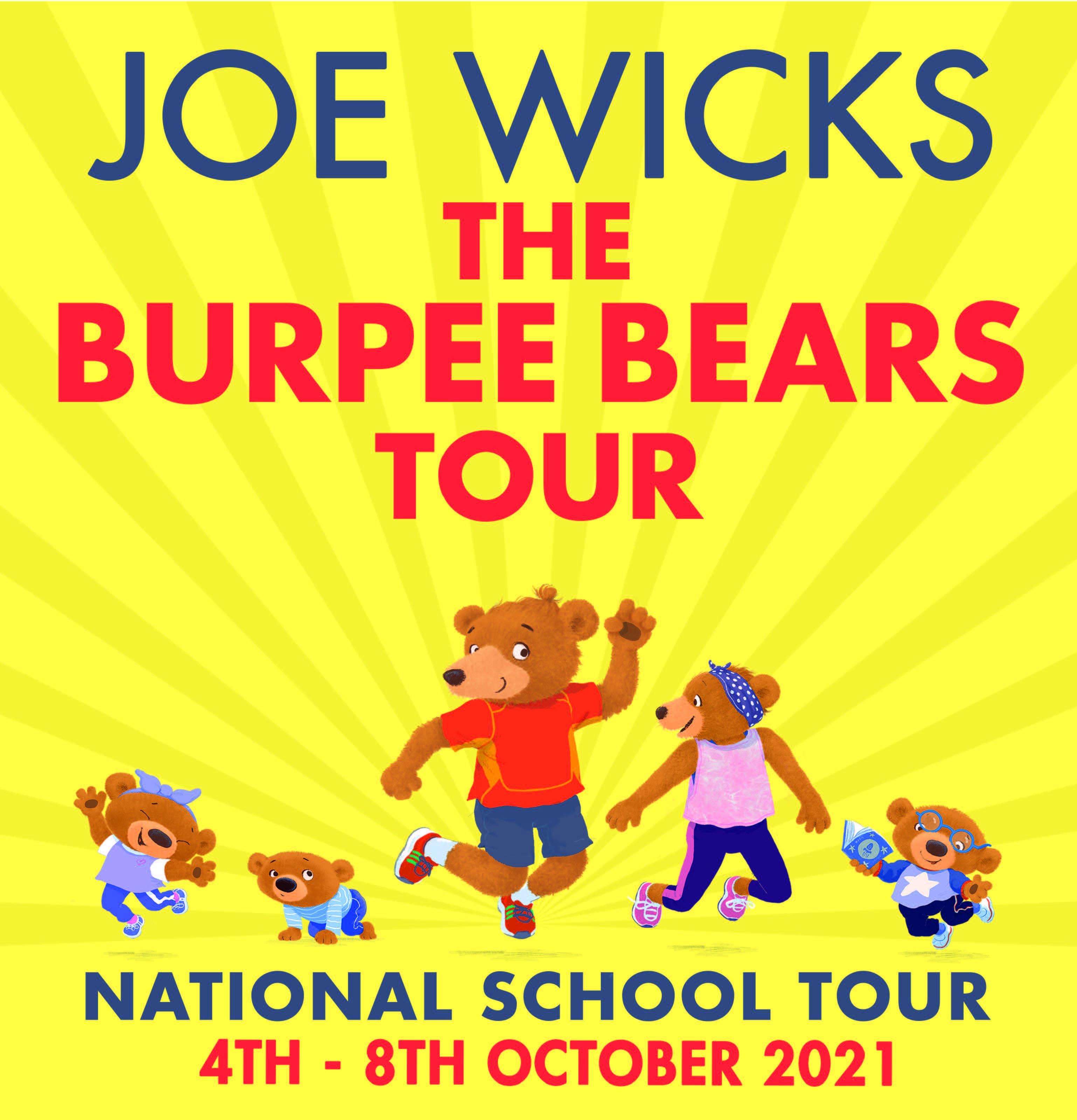 The Burpee Bears Tour