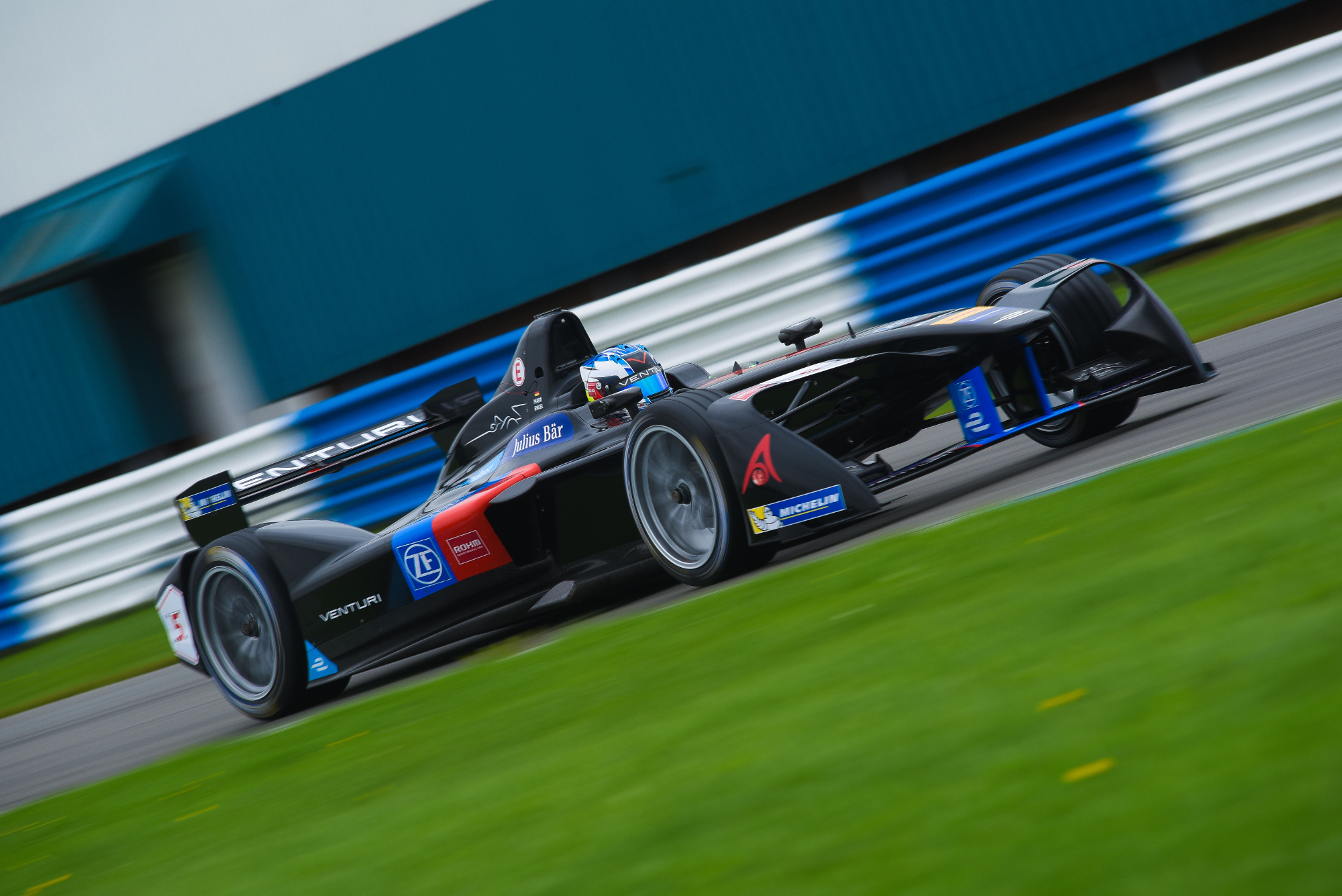 Venturi-Rohm team at Formula E cr