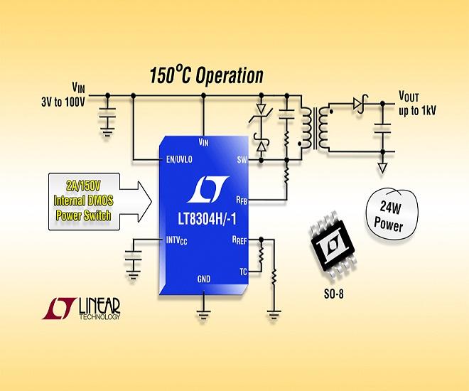 [Linear Tech LT8304-I no-opto flyback regulator (cr)]