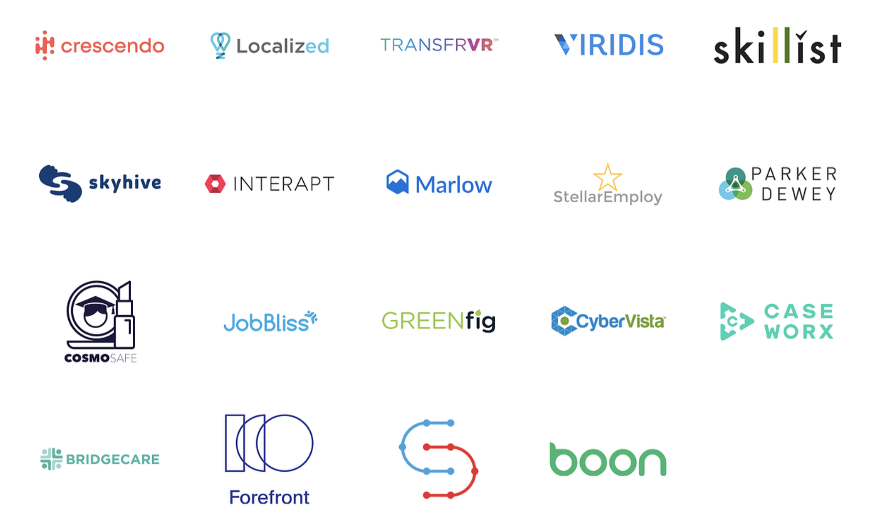 Workforce Forum startups