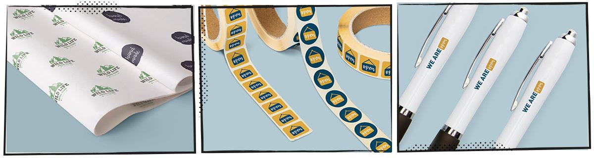 open-voor-afhalen vloeipapier-stickers-pennen