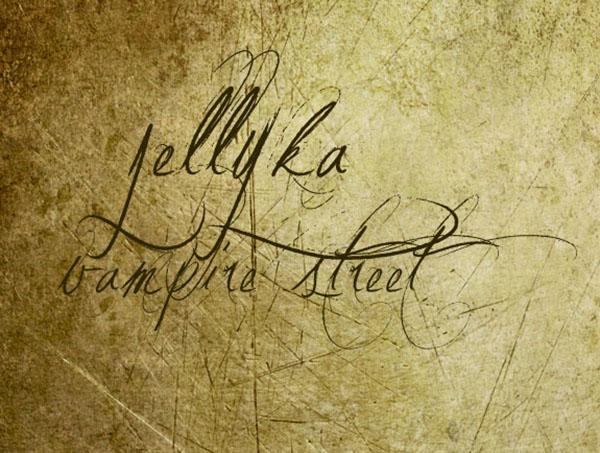 handgeschreven-font-Jellyka-Vampire-Street