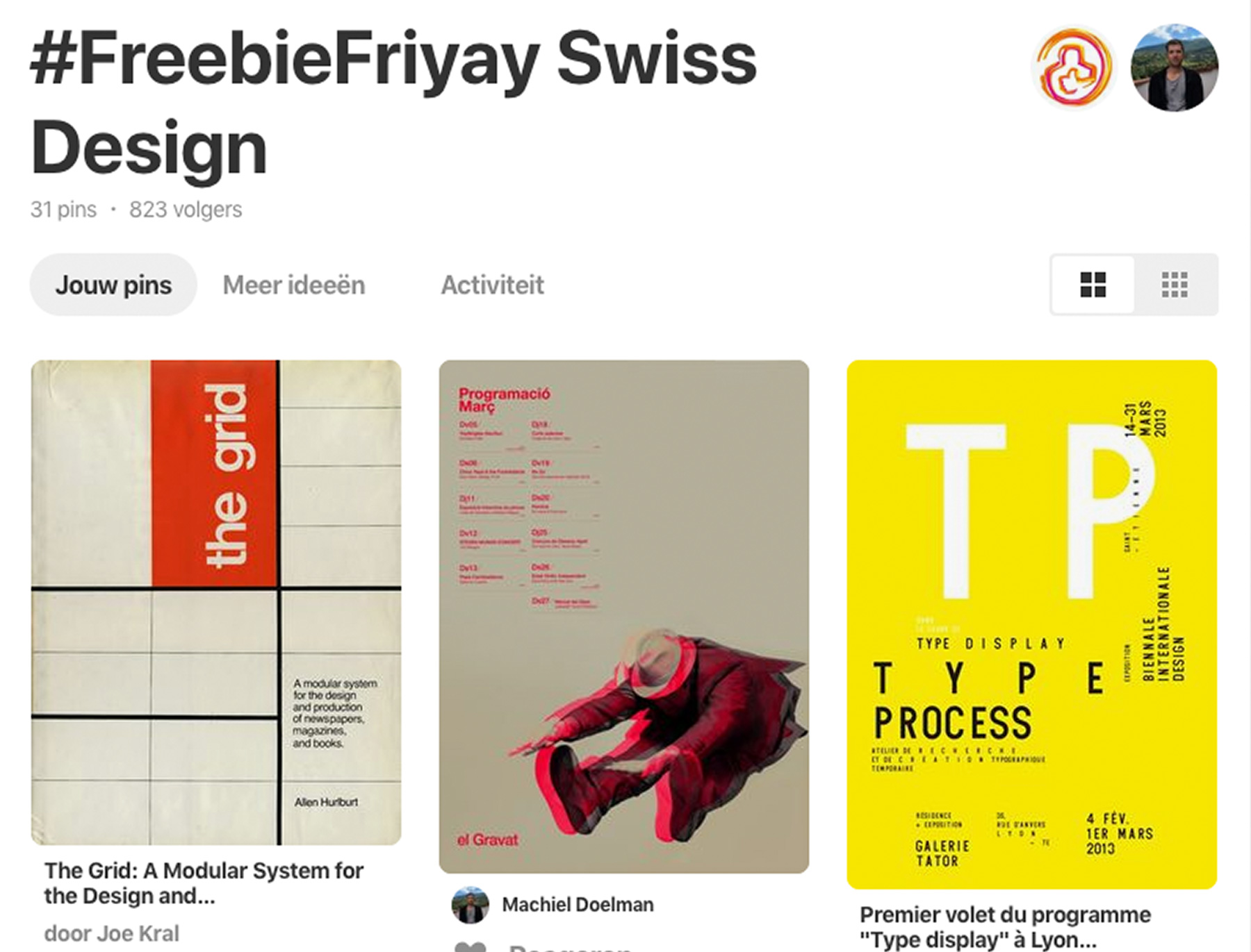FreebieFriyay #38 - Swiss Design op Pinterest