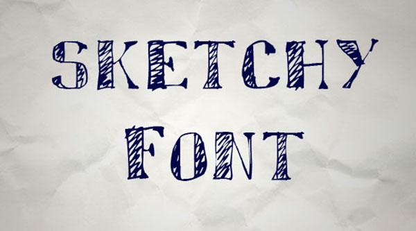 handgeschreven-font-sketchy