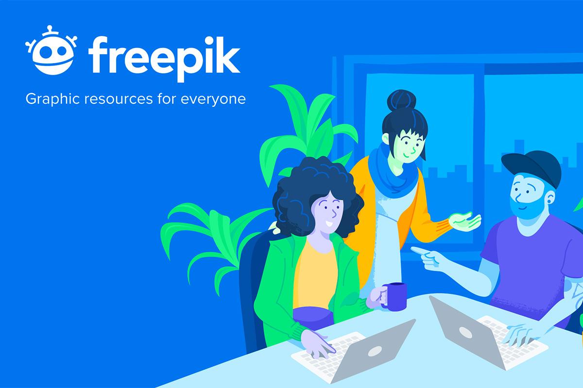 de-27-beste-sites-voor-gratis-vectorillustraties freepik