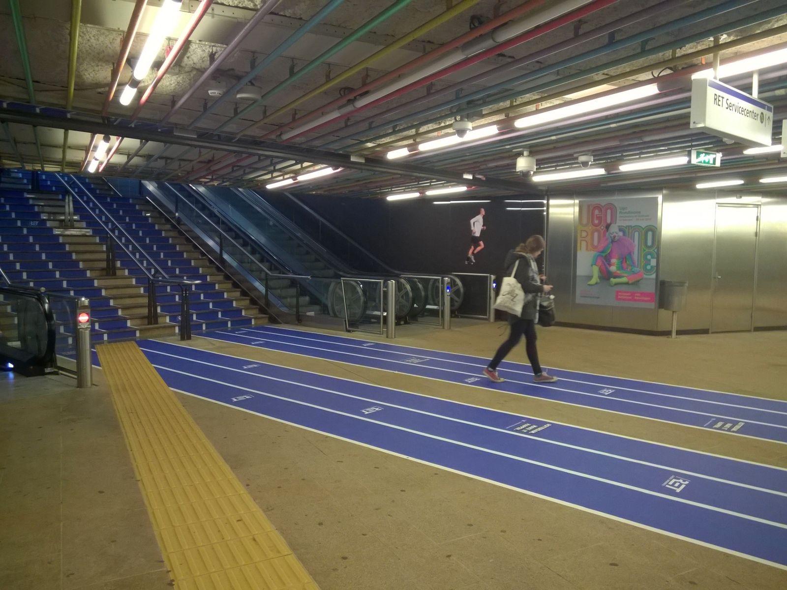 Station-Atletiek