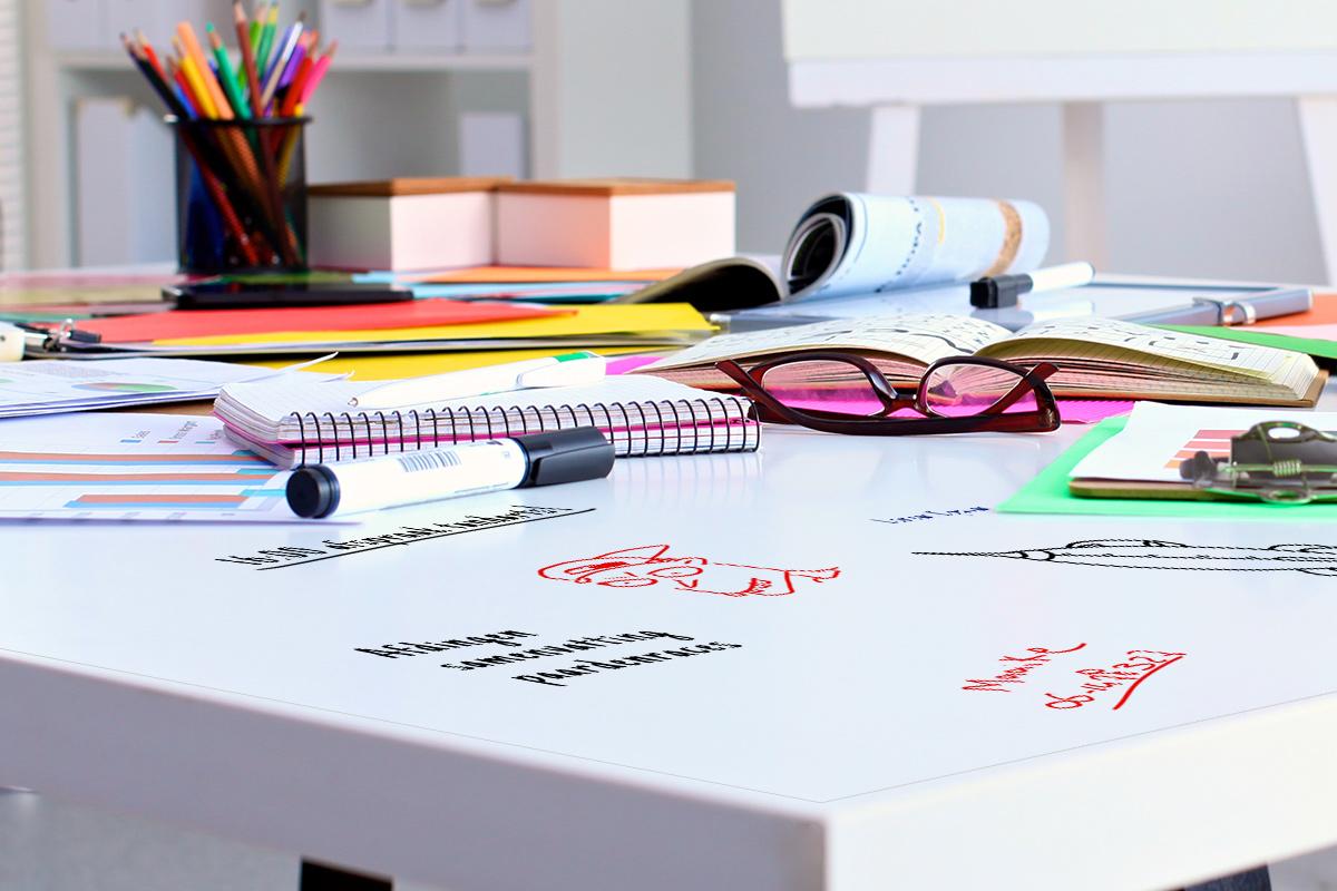 Whiteboard-bureau